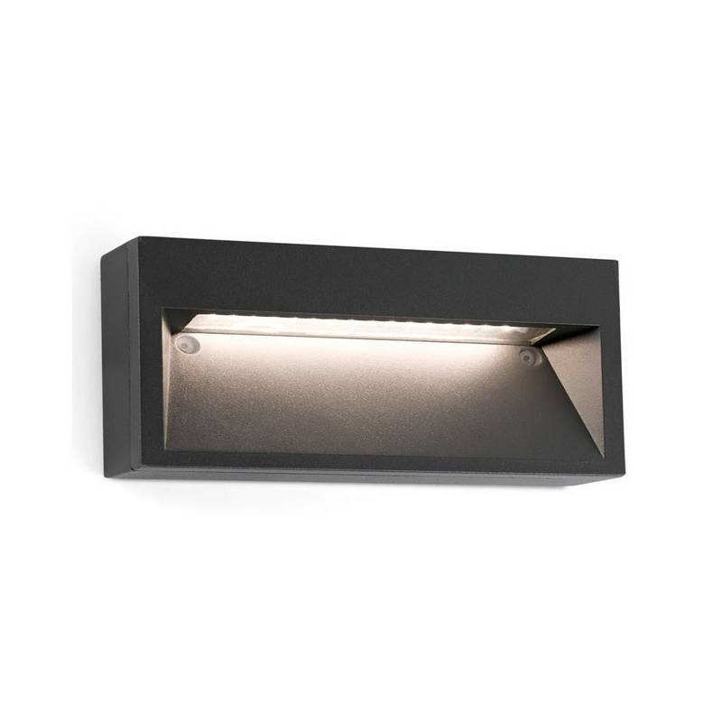 Aplique de Exterior LED Faro PATH gris oscuro