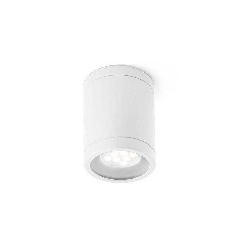 Plafón de Exterior Faro OLOT blanco