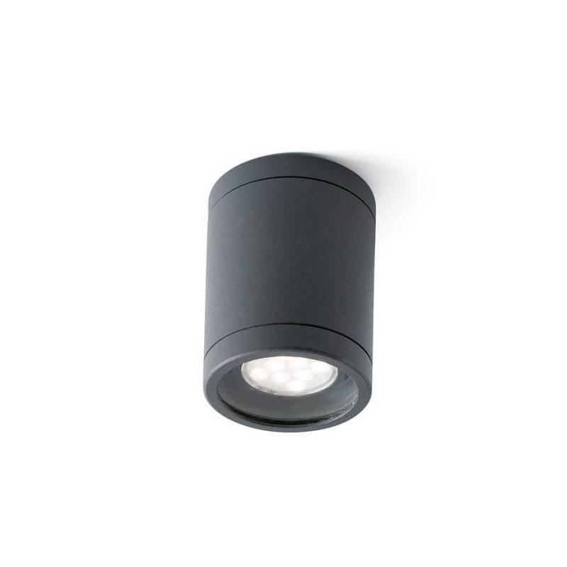 Plafón de Exterior Faro OLOT gris oscuro