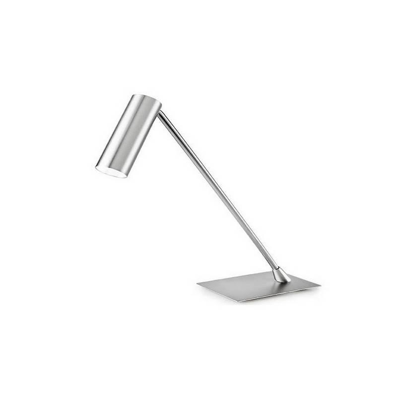 Lámpara de Sobremesa Aluminio Cromo  - 1 LED 4W 3000K