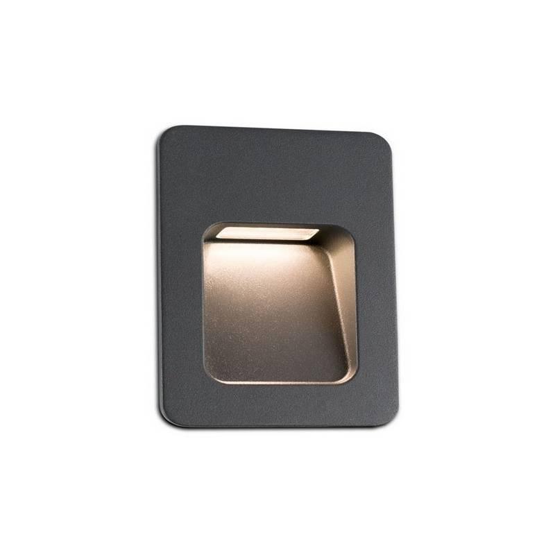 Aplique empotrable LED para exterior Faro NASE -2