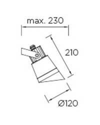Proyector Leds C4 HUBBLE Blanco GU10/MR16