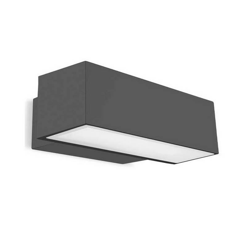 Aplique de Exterior LED 39W Leds C4 AFRODITA 3000K 4198 lm Gris Urbano