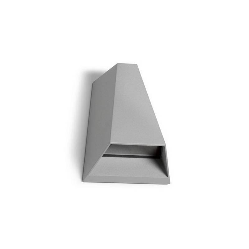 Apliques para Exterior TAYLOR-1 LED Aluminio Gris