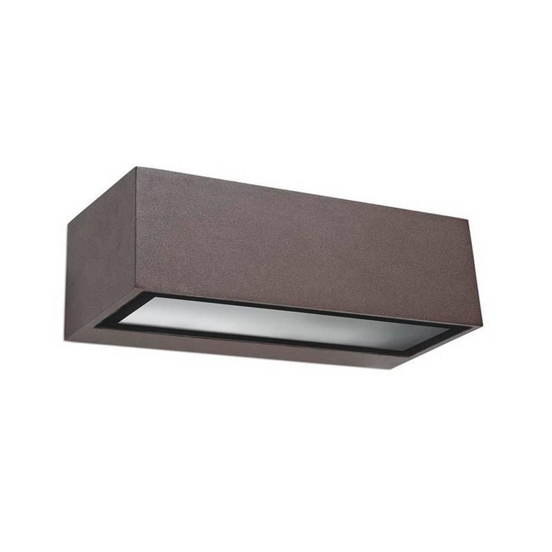 Apliques de Exterior LED 5W Leds C4 NEMESIS 3000K Marrón