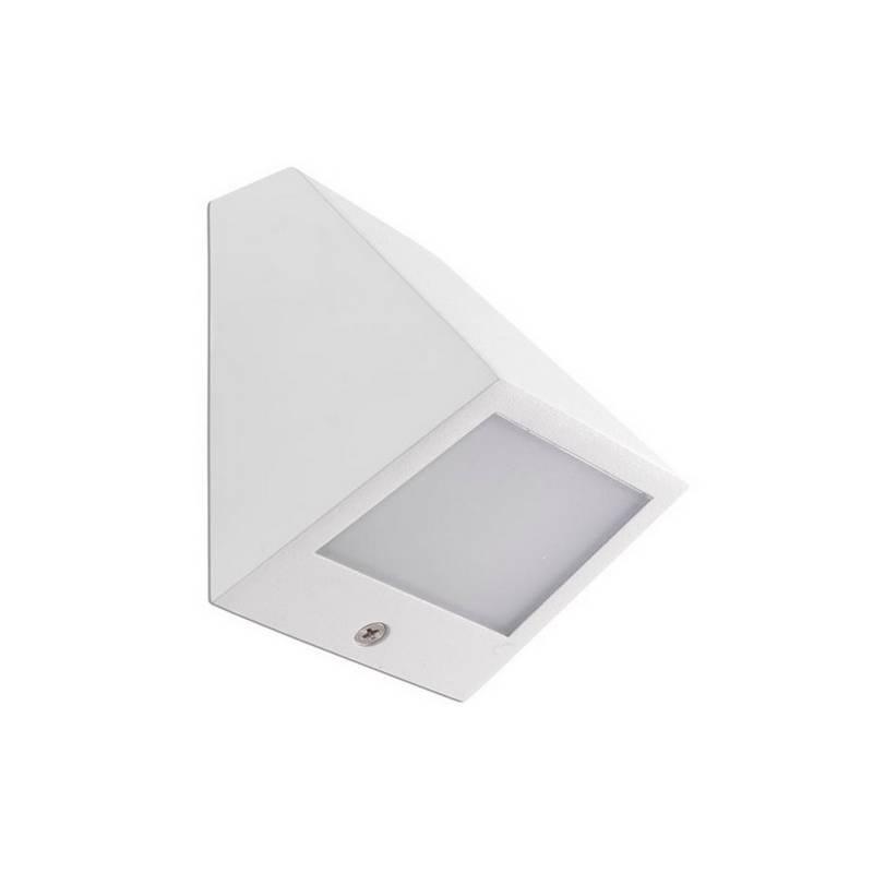 Apliques de Exterior LED 3W Leds C4 ANGLE-P 3000K Blanco