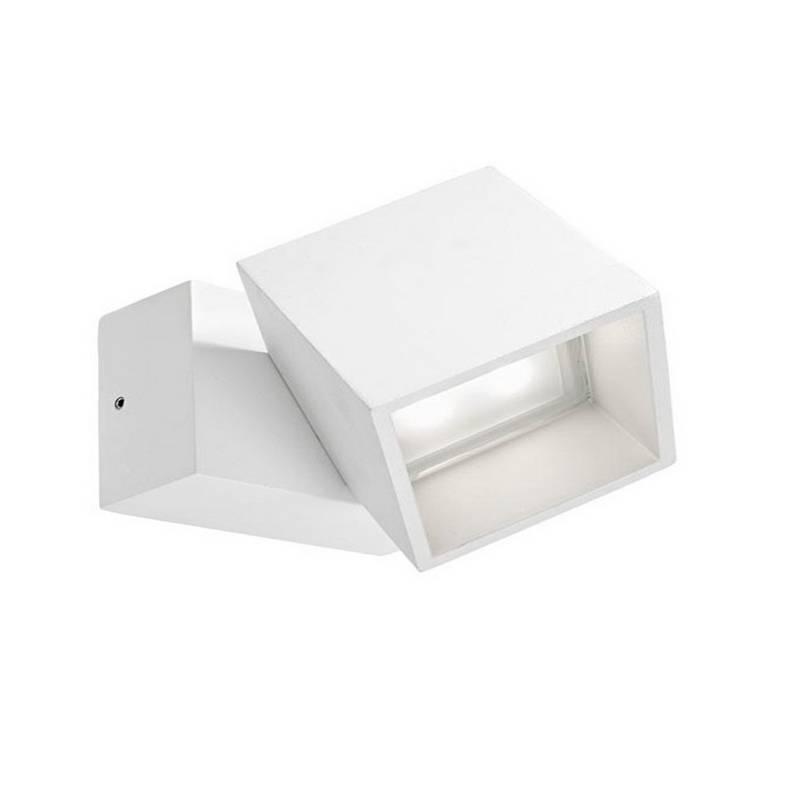 Apliques de Exterior LED 5W Leds C4 CUBUS 3000K Blanco