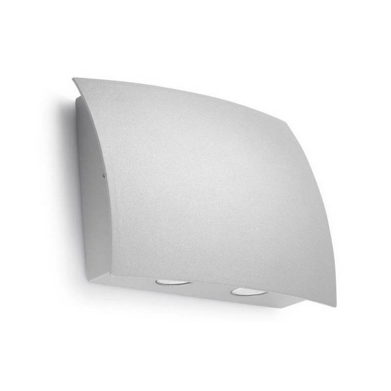 Apliques de Exterior LED 4W Leds C4 SURF-G 3000K Gris