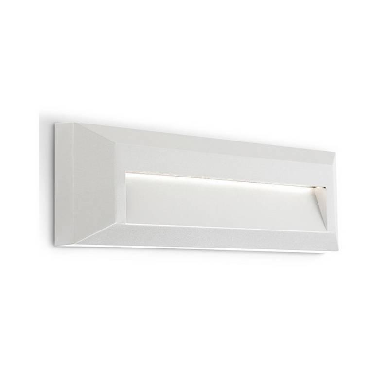 Apliques de Exterior LED 3W Leds C4 KÖSSEL 4000K Blanco / Gris / Gris Urbano