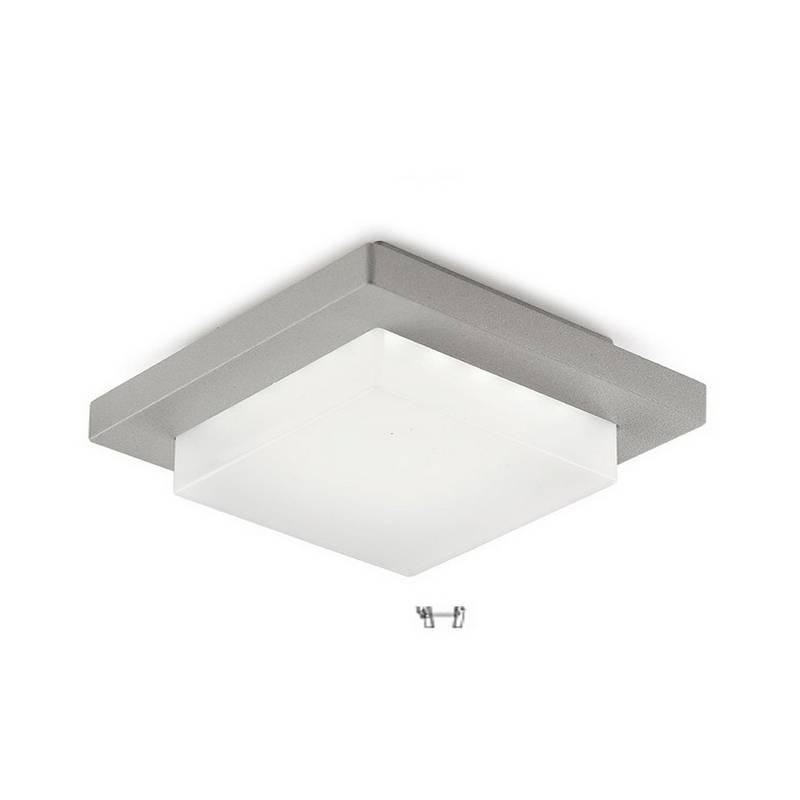 Aplique / Plafón de Exterior LED 3,5W Leds C4 JET 3000K Gris