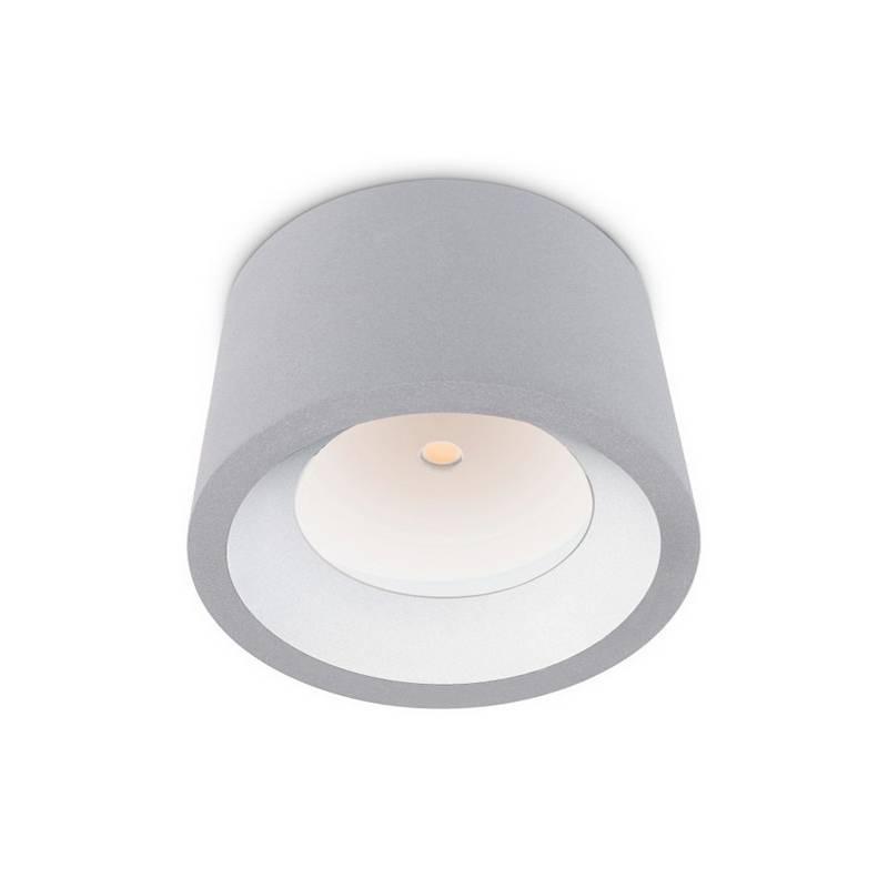 Plafón de Exterior LED 12W Leds C4 COSMOS 3000K Gris