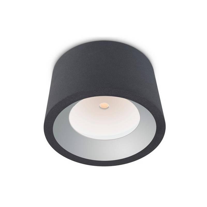 Plafón de Exterior LED 12W Leds C4 COSMOS 3000K Gris Urbano