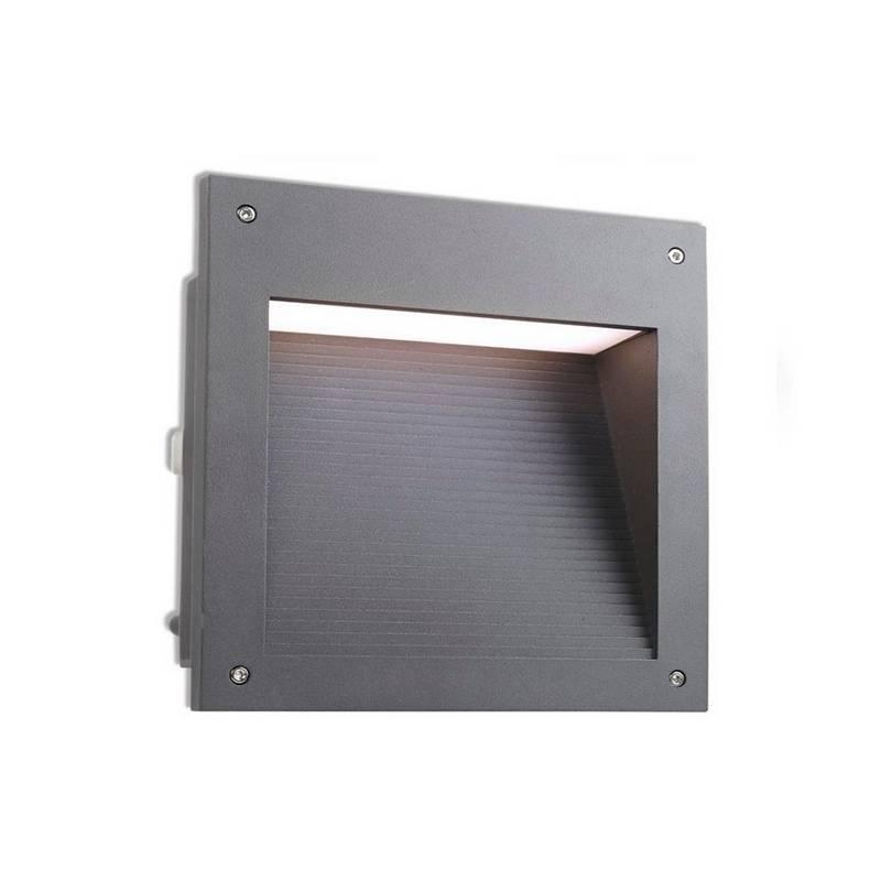 Lámpara Empotrable LED 20W Leds C4 MICENAS Gris Urbano