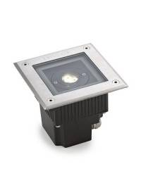 Luces Empotrables LED de Suelo GEA Acero Inoxidable AISI 316 6,5W