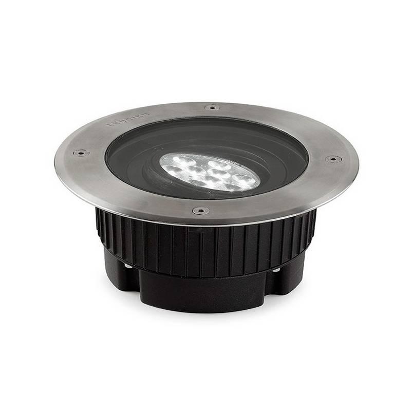 Lámpara Empotrable LED 9W Leds C4 GEA 3000K AISI 316 Circular Ø18 cm