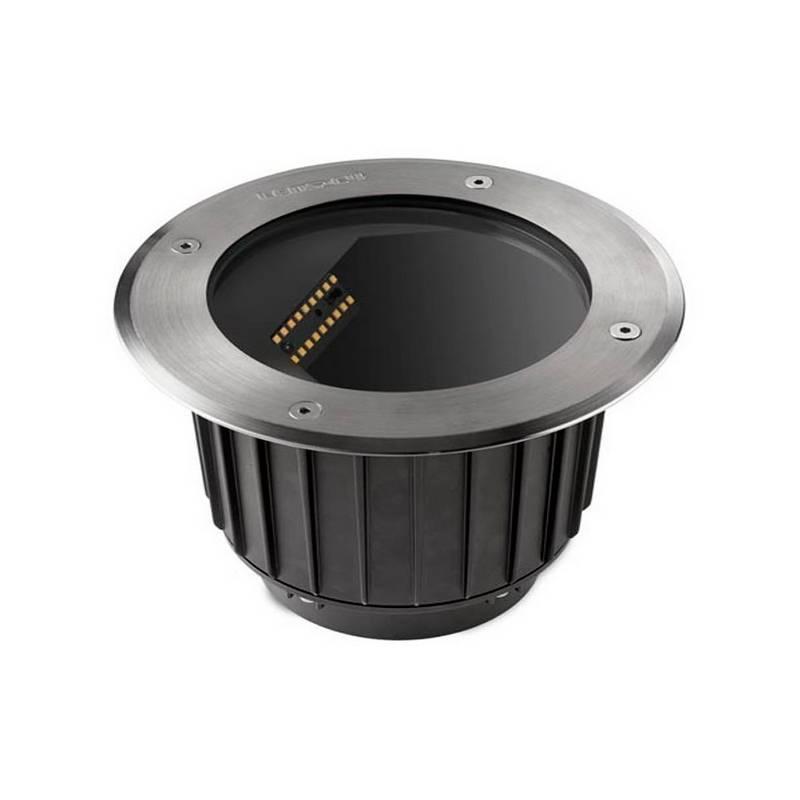 Lámpara Empotrable LED 16W Leds C4 GEA 3000K AISI 316 Asimetrica Ø18,5 cm