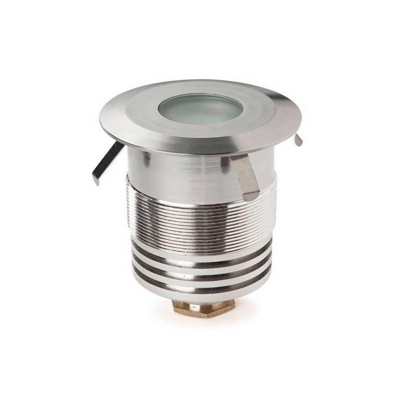 Luces Empotrables de Suelo LED CREE  GEA Aluminio Anodizado 1W