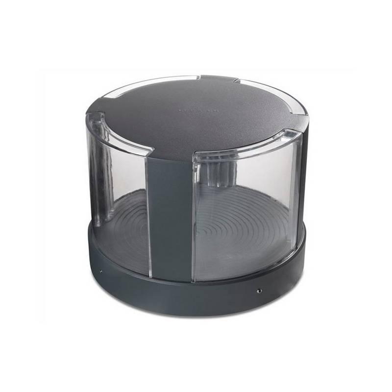 Sobremuro LED 16W Leds C4 COMPACT 3000K 20 cm Gris Urbano