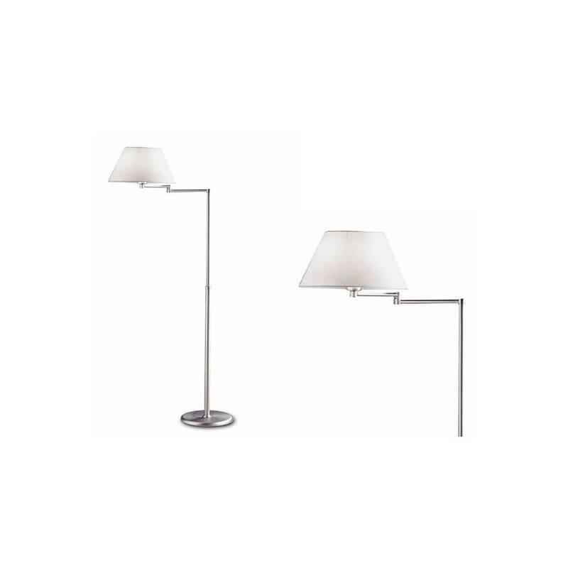 Lámpara de Pie de Salon de Laton/Acero - Baño Oro  - 1 E-27 60W MAX. 220V