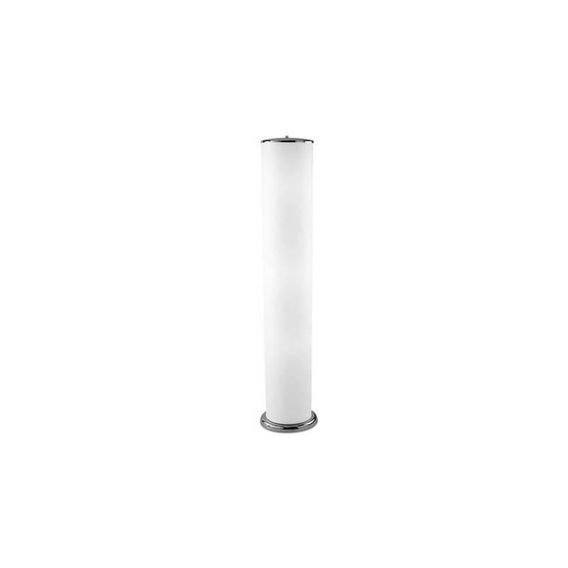 Lámpara de Pie de Salón de Acero Niquel Mate  - 2x T5 54W con Regulador