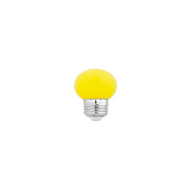 Bombillas LED Faro G45 LED E27 1W AMARILLA
