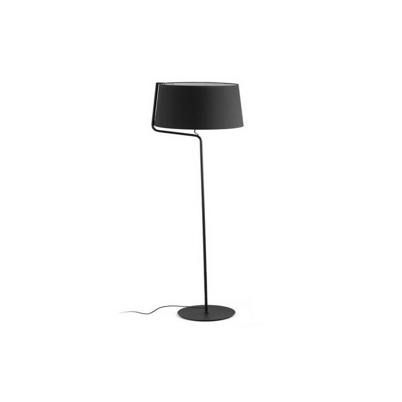 Lámparas Faro BERNI PIE DE SALON NEGRO E27 20W