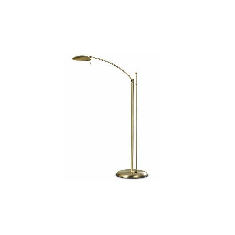 Lámpara de Pie de Salón Acero Niquel Mate  - 1 R7s 118mm 150W Máx.  220V