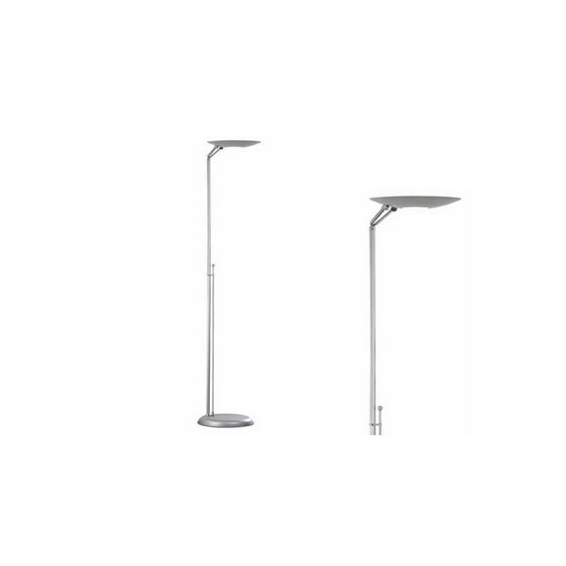 Lámpara de Pie de Salón Acero Plata  - 1 R7s 118mm 300W Máx.  220V