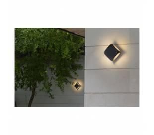 Lámparas de Exterior -  Apliques Faro BU-OH APLIQUE GRIS OSCURO LED 12W 3000K
