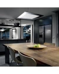 Lámpara Colgante Niquel Mate - LED 55W 2800lm 4000K
