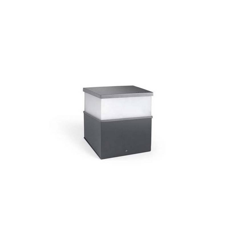 Lampara SOBREMURO CUBIK 21 x LED OSRAM 15W GRIS URBANO Leds C4