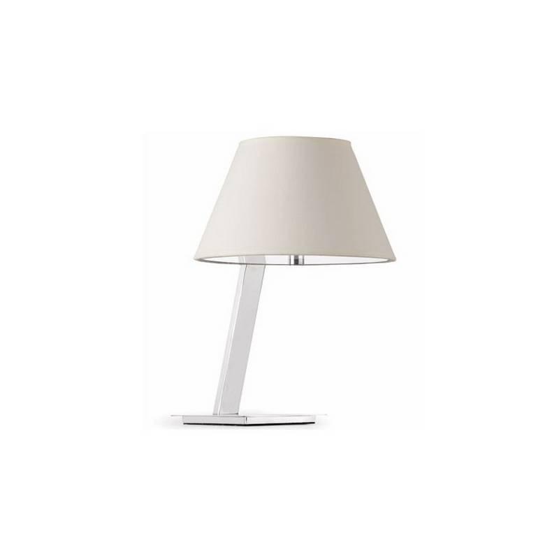 Lámpara somresa Metal MOMA Interior Blanco para sobremesa E27