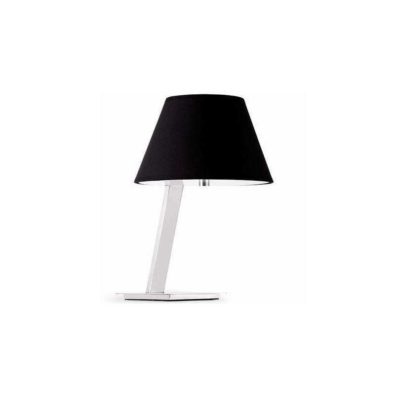 Lámpara somresa Metal MOMA Interior Negro para sobremesa E27