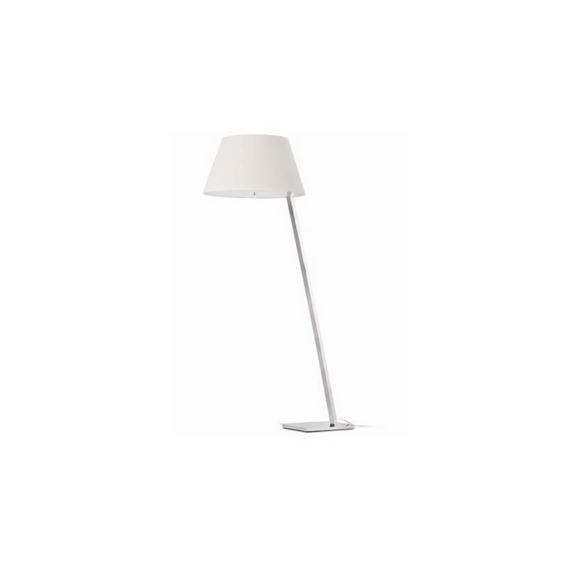 Lámpara Pies de Salón de Metal MOMA Interior Blanco E27
