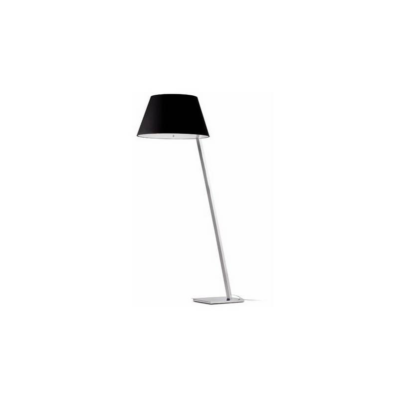Lámpara Pies de Salón de Metal MOMA Interior Negro E27