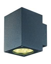 Apliques de Exterior BINDÓ SQ. IP54 LED 12W 872lm 3K Antracita