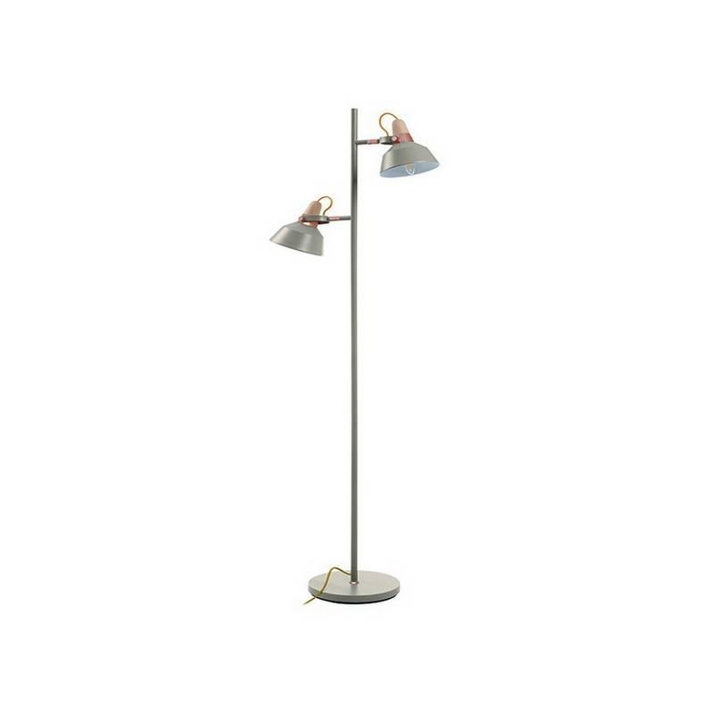 Lámparas Pie de Salón CLOÉ IP20  2xE14 gris piedra