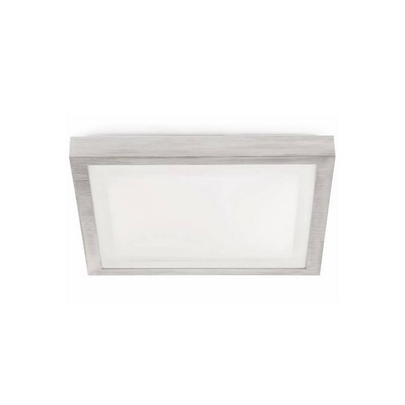 Plafón de Aluminio TOLA-1 para Baño Gris E27