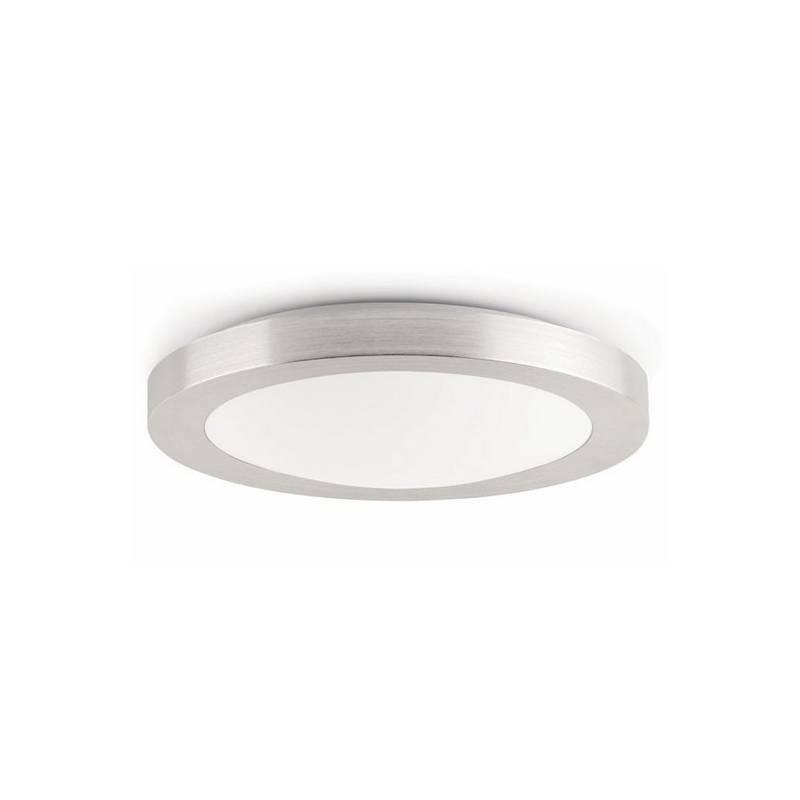 Plafón de Aluminio LOGOS-1 para Baño Gris E27