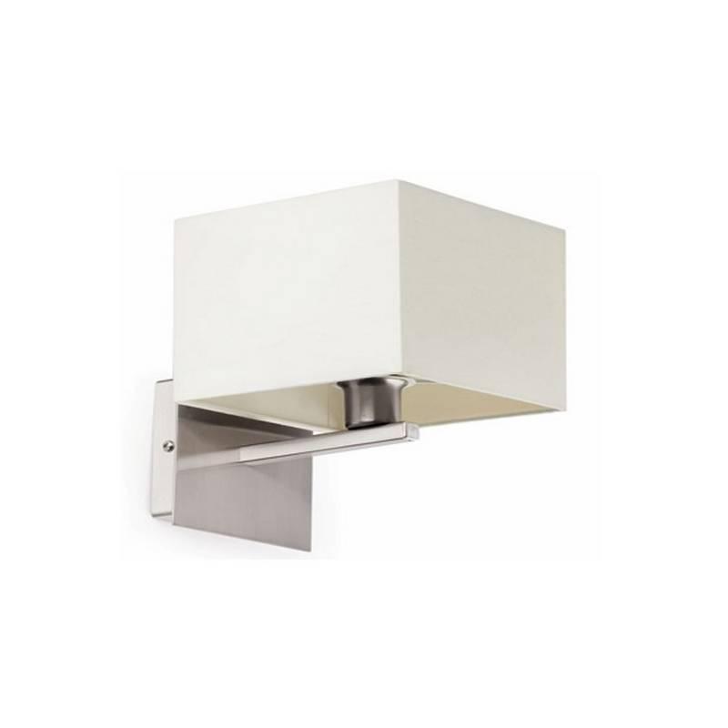 Aplique de Acero THANA Interior Blanco  para pared E14