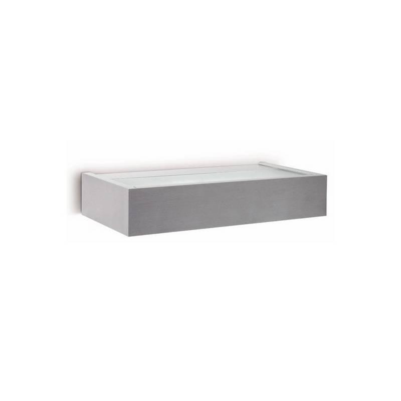 Aplique de Aluminio  AMBO Interior Niquel Mate para pared E27