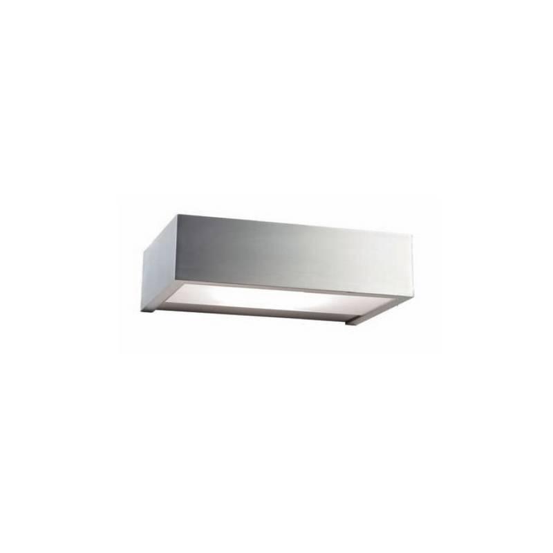 Aplique de latón APOLO Plata ambiente de pared 8 LED's