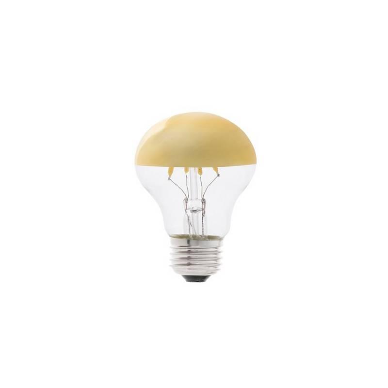 Bombillas LED Faro A60 Espejo Oro E27 4W 2700K