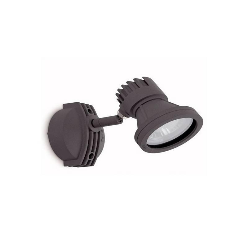 Proyector de Aluminio Iny. MINI-PROJECT para Exterior color Gris Oscuro GU10