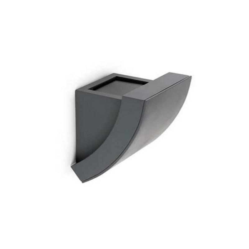 Aplique de aluminio Iny. PROA Exterior Gris Oscuro GU10
