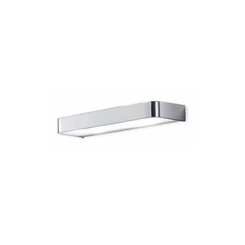 Aplique de aluminio ARCOS Blanco ambiente halógeno de pared