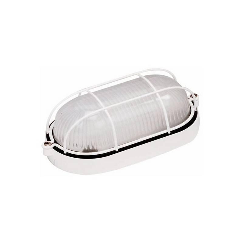 Aplique de Aluminio ESTAY-P pequeño para Exterior Blanco E27