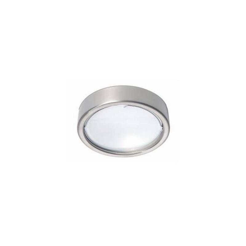 Aplique de acero ESFERIC Plata halógeno de pared