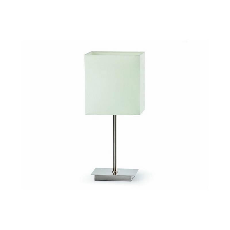 Lámpara sobremesa de Acero THANA Interior Blanco E14