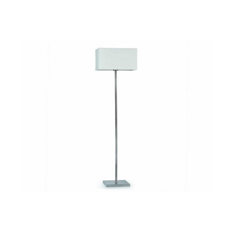 Lámpara pie de salón de Acero THANA Interior Blanco E27